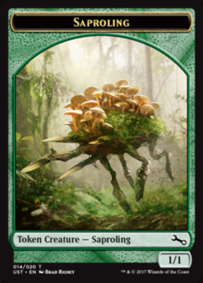Saproling Token Doble Full Art (Foil)